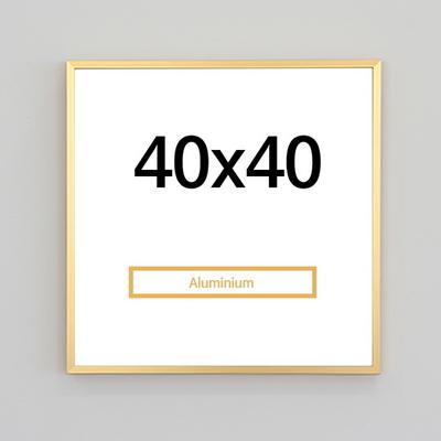 알루미늄액자 40x40 정사각형액자(7컬러) 인테리어 액자