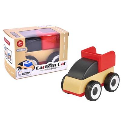 맥킨더 유아용 카툰카 소형 자동차 장난감 (레드)