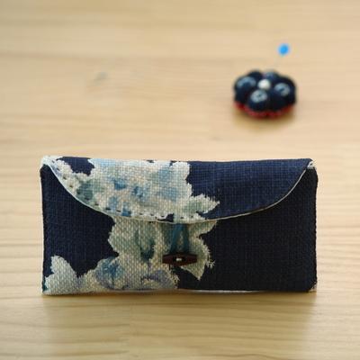 퀼트패키지 안경케이스만들기 블루꽃2