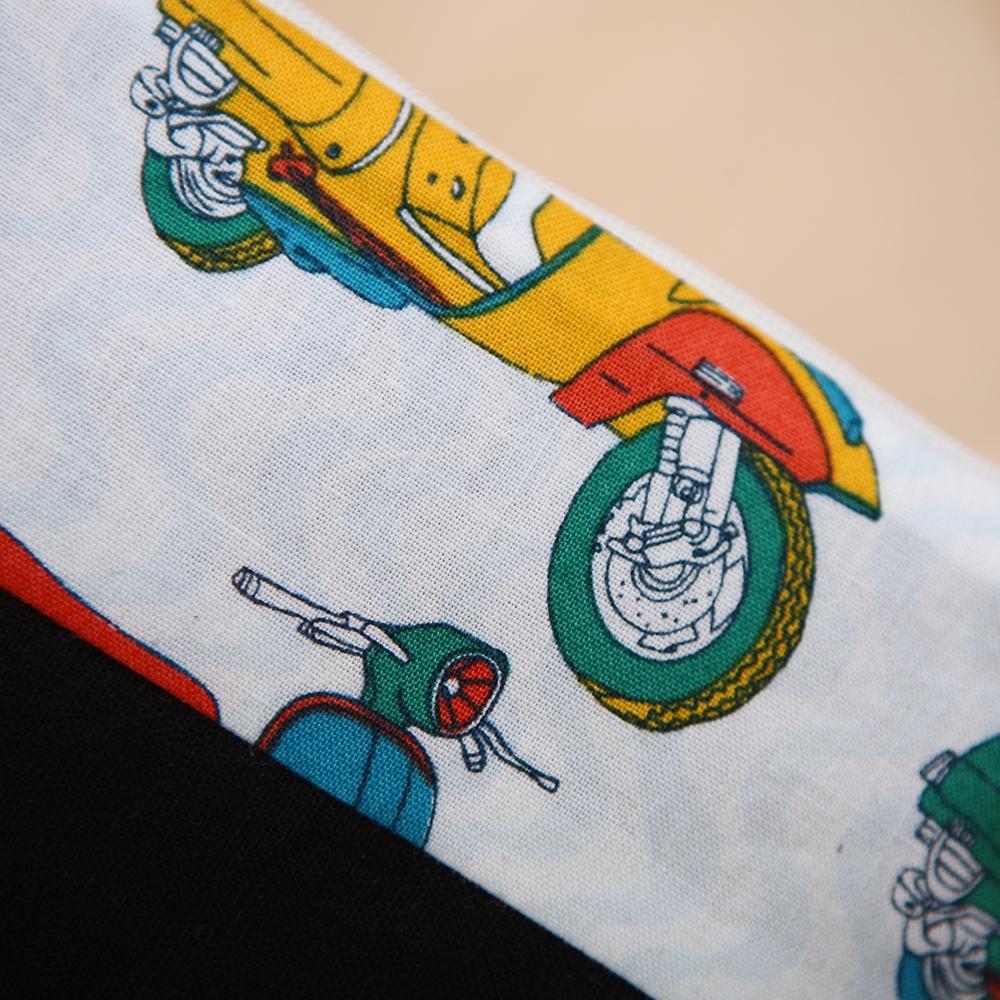 퀼트 패키지 필통만들기 레트로필통 미니밴 스쿠터 - 나미꼬의퀼트카페, 5,500원, 펠트공예, 수납/주머니 패키지