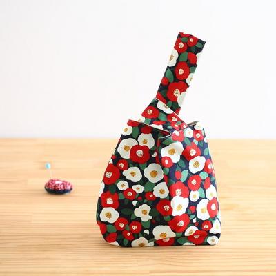 퀼트 패키지 손목가방만들기  미니동백손목가방