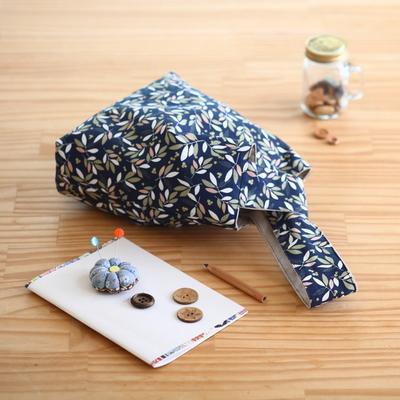 퀼트 패키지 손목가방만들기 시아노타입2