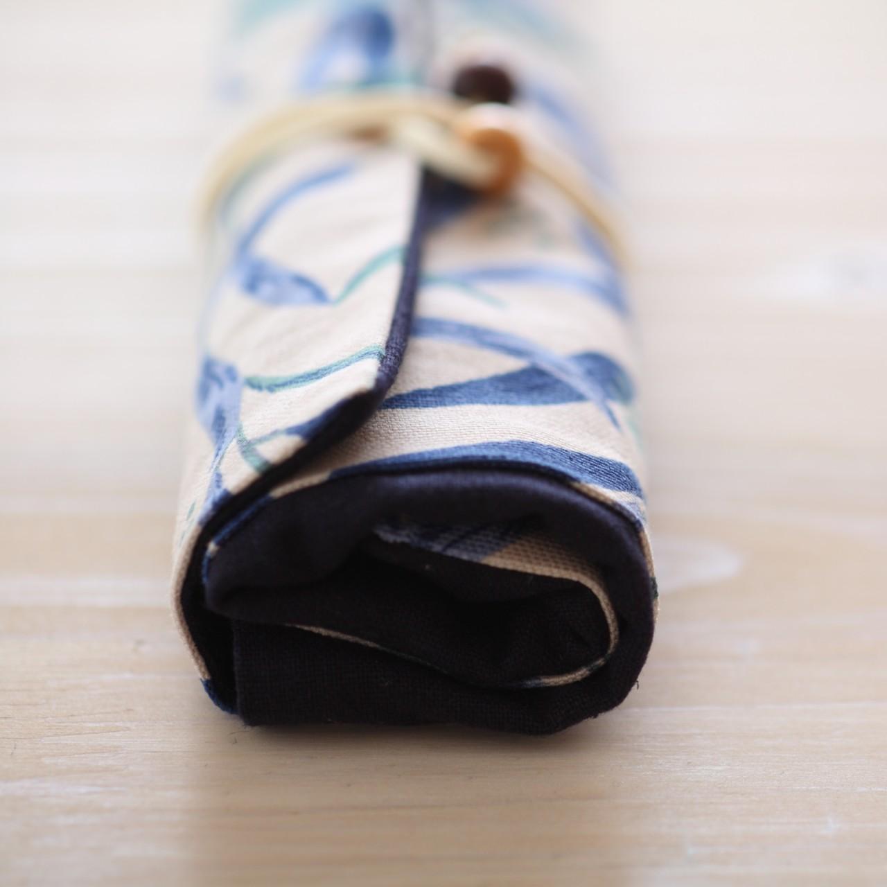퀼트패키지 펜케이스 돌돌말이필통2 퀼트필통만들기 - 나미꼬의퀼트카페, 5,500원, 퀼트/원단공예, 수납/주머니 패키지