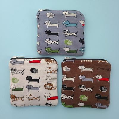 퀼트패키지 지갑만들기 고양이톰 색상랜덤발송