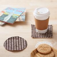 2개 카페티매트만들기 커피 컵받침만들기