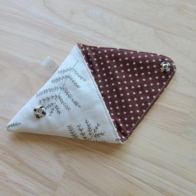 삼각동전지갑만들기 꼬깔콘 지갑만들기