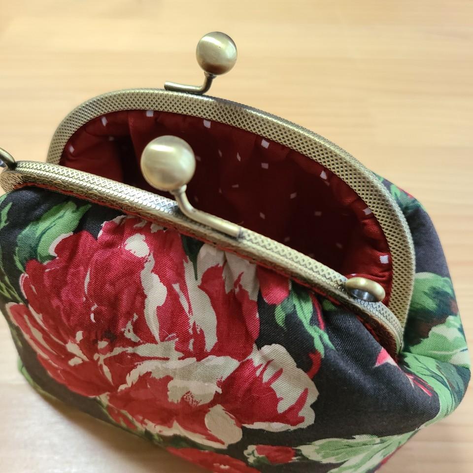 퀼트 패키지 15cm프레임가방만들기 로즈2 (체인별도) - 나미꼬의퀼트카페, 19,800원, 펠트공예, 수납/주머니 패키지