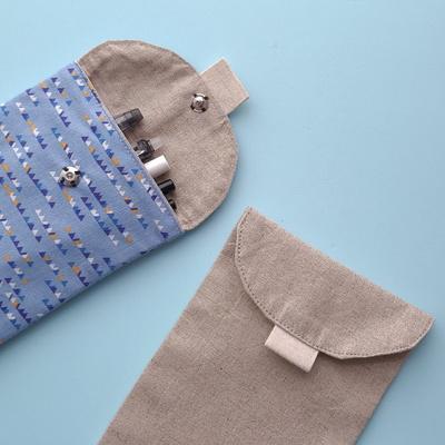 반달필통만들기 천필통패키지 삼각인디언 외 디자인선택