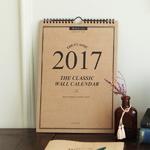 2017 워너디스 클래식 월 캘린더 A4