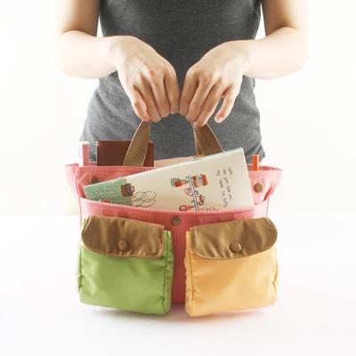 [탈부착/방수] 미니 포켓 백인백 (mini-poket bag in bag)