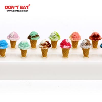 싱글콘(투톤) 아이스크림 이어캡 (3.5파이 전용)