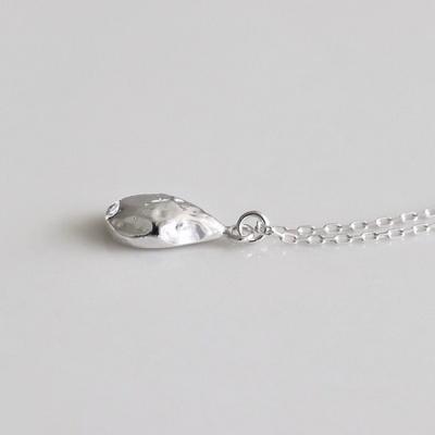 [Silver925] Uneven drop necklace