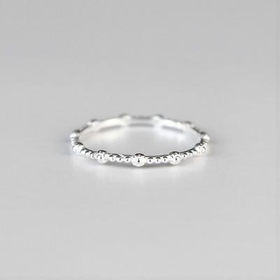 [Silver925] Elegance dot ring