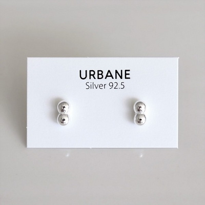[Silver925] Together earring