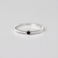 [Silver925] Gemstone band ring