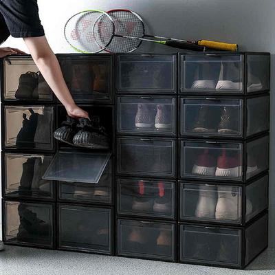 고급형 투명 신발정리함 플라스틱 신발장 모음