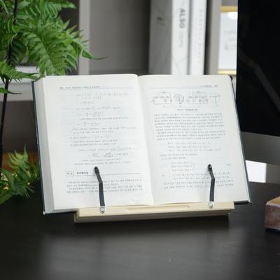 시나몬s 1단 원목 독서대
