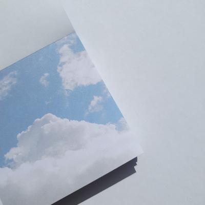 흰구름 메모지