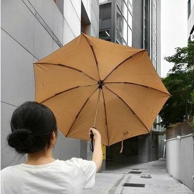 고급스런 4컬러 거꾸로 원터치 우산