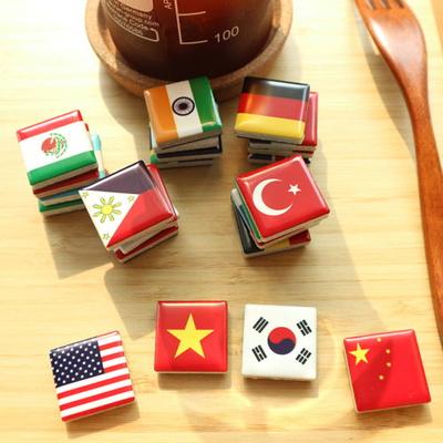 세계의 국기 미니타일자석 풀세트(24개+스티커)