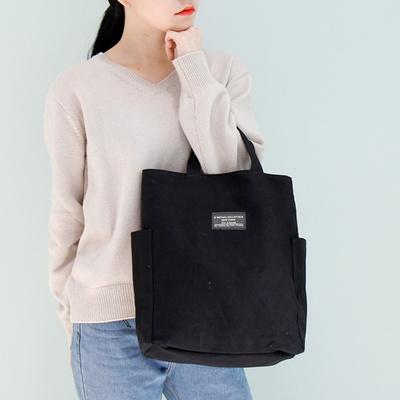 마리나 텀블러Y 에코백 포켓 캔버스 수납 가방