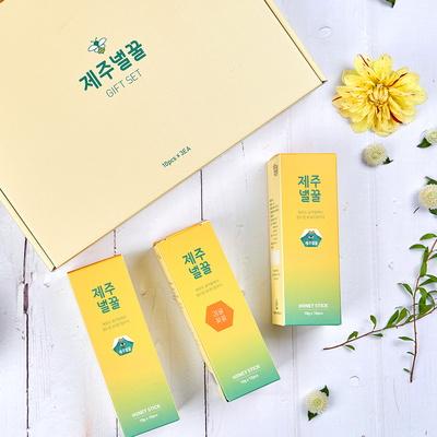제주 감귤꽃 꿀 스틱 선물세트