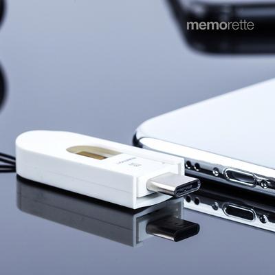 메모렛 MI-OR006 16G C타입 OTG USB메모리 MicroSD카드 결합형