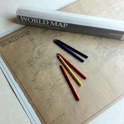 WORLD MAP ver.Kraft (크라프트 세계지도)