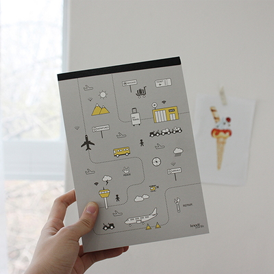 TRAVEL NOTE PAD