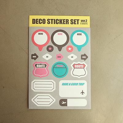 DECO STICKER SET ver.2