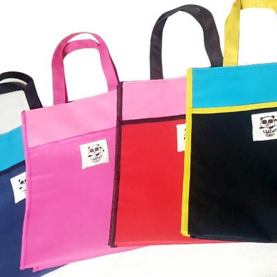 라벨 포켓보조가방