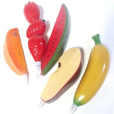 과일볼펜 5종세트