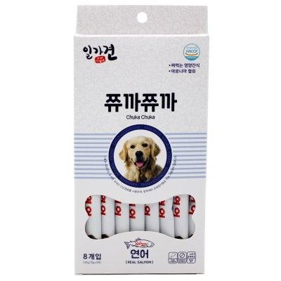 일가견 쮸까쮸까 스틱 15gx8개 연어맛
