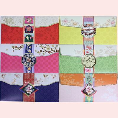 전통문양 용돈봉투 6장묶음 특가판매