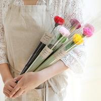 카네이션 비누꽃 한송이포장