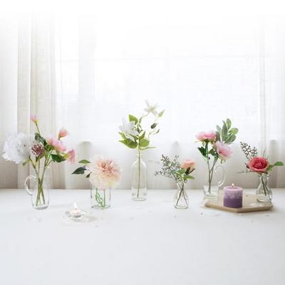 로맨틱핑크 테이블장식 (조화화병 6set)