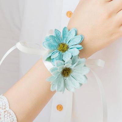 순수한 데이지 꽃팔찌(1+1)