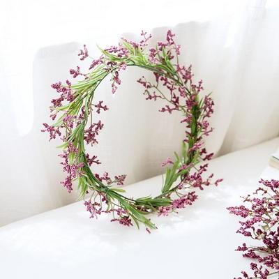 내추럴 와일드 들꽃화관