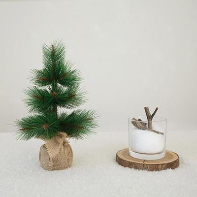 크리스마스 솔나무 무장식 미니트리