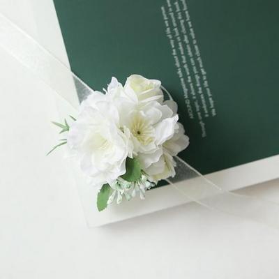 브라이덜샤워꽃팔찌 - 벚꽃 [2color]