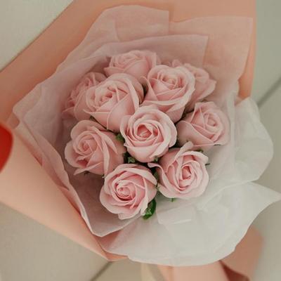 비누꽃 장미꽃다발 (10송이) [5color]