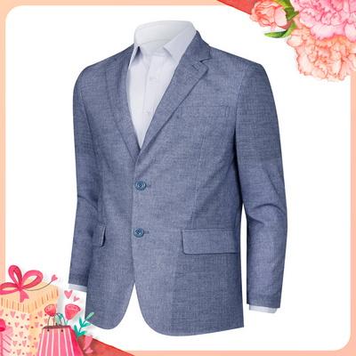 [어버이날]남성 가벼운 여름 캐주얼 정장 콤비 자켓 HM-COS-10-블루