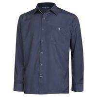 남성 봄 가을 베이직 패턴 카라넥 셔츠 YD-SHA-152-네이비