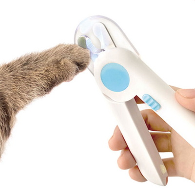 리스펫 다보여 강아지 고양이 LED 발톱깎기