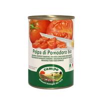 캄포 유기농 촙트 토마토 통조림 400g