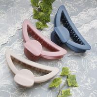 심플리 국산 무광 대형 올림머리 헤어집게핀 10colors