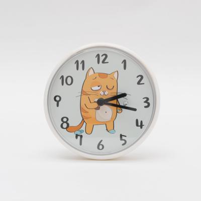 고양이 욕실시계 방수 벽시계 4종