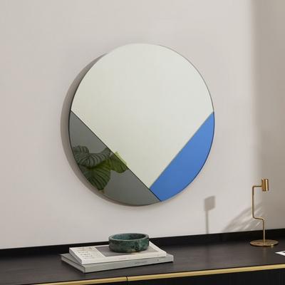클로이 아트 미러 원형 화장대 인테리어 거울 60CM CHE-600