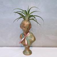 빈티지 부식 아트 중형 비너스여인 석고상화분 38cm