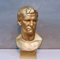 골드컬러 아그리파 대형 석고상화분 65cm내외 리본2개
